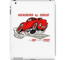 Headers By Doug iPad Case/Skin