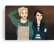 Andy & April Canvas Print