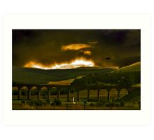 Scotland 2 The Lowlands Art Print