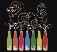 Bubbly Celebrations T-shirt by fatfatin