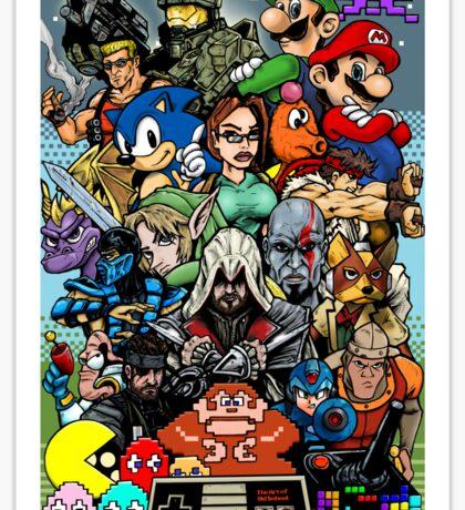 Video Game History Sticker