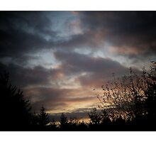 Mood In The Clouds Photographic Print