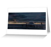North Pier - Blackpool Greeting Card
