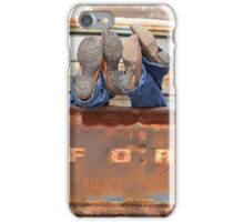 Relaxin' Country Style iPhone Case/Skin