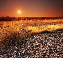 Suffolk Sunset. by Wayne Bradshaw