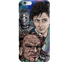 Faces Of Dr. Who iPhone Case/Skin