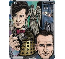 Faces Of Dr. Who iPad Case/Skin