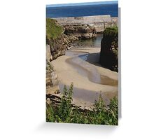 Port Nis Low Tide Greeting Card