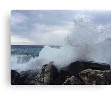 Ligurian Coast  Canvas Print