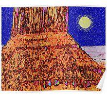 Desert Tower Poster