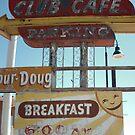 Club Cafe Santa Rosa by Paul Butler