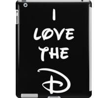 I love the D (Disney inspired) Dark Bachelor or Bachelorette shirt iPad Case/Skin