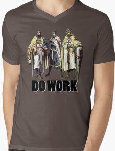 Do Work! Mens V-Neck T-Shirt