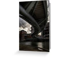 Bristol bridge Greeting Card
