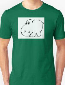 Arm The Homeless Hippo Guitar Sticker Unisex T-Shirt