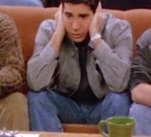 Chandler, Ross, and Joey Sticker