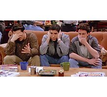 Chandler, Ross, and Joey Photographic Print