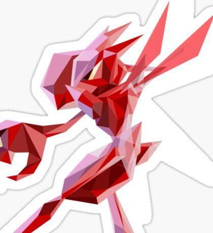 Porymon Scizor | Polygonal Pokemon Series Sticker