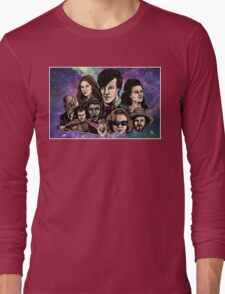 11th Dr. Who  Long Sleeve T-Shirt