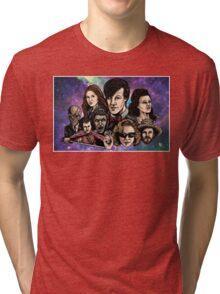 11th Dr. Who  Tri-blend T-Shirt
