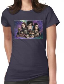 11th Dr. Who  Womens Fitted T-Shirt