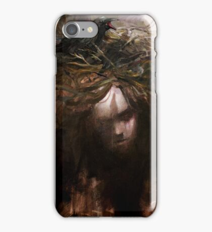 Bad thoughts are like birds... iPhone Case/Skin