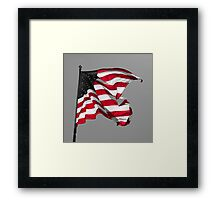 Country In The Red Framed Print
