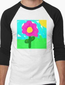 Flower Men's Baseball ¾ T-Shirt