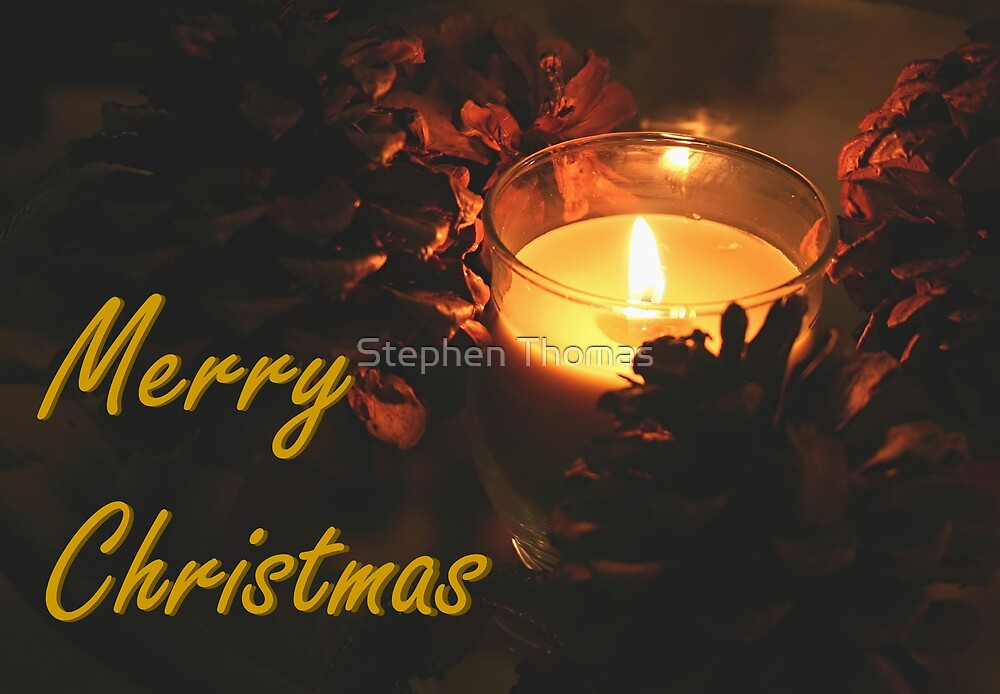 Christmas Candle by Stephen Thomas
