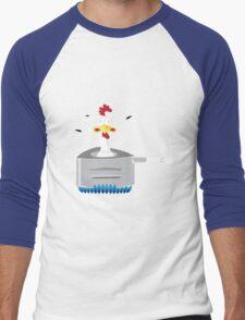 Chook Cooker Men's Baseball ¾ T-Shirt