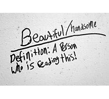 Truth in Graffiti Photographic Print