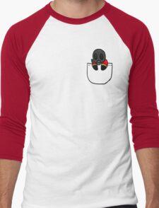 TeamFortress 2 Pocket Pyro (Red) Men's Baseball ¾ T-Shirt