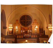 Art Nouveaux Church Poster