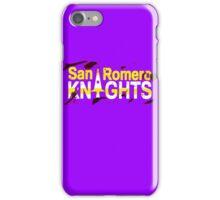 Bloody San Romero Knights Logo iPhone Case/Skin