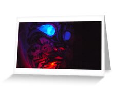 Ghost  Watcher Greeting Card