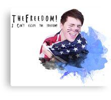 Danisnotonfire - I can't escape the freedom Canvas Print