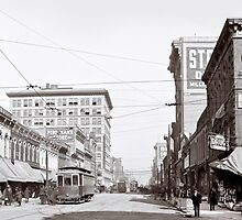 Vintage Downtown Birmingham Alabama by Mark Tisdale