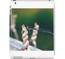 Dragonfly Damselfly Insect Photography iPad Case/Skin