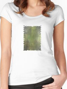 Misty Mountain Morning Women's Fitted Scoop T-Shirt