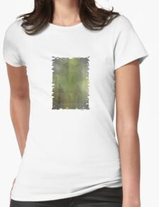Misty Mountain Morning Womens Fitted T-Shirt