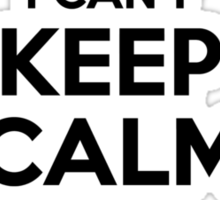 I cant keep calm Im a GOREY Sticker