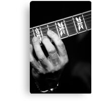 Guitar Hand Canvas Print