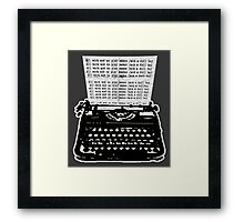 Jack's A Dull Boy Framed Print
