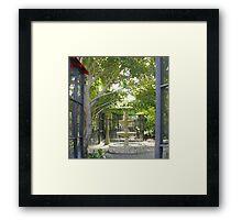 Take A Zen Moment... Framed Print