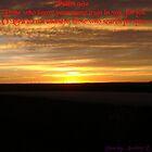 Gods Awesome Sunrise  by Audreylouise