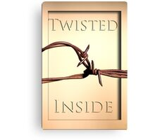Twisted Inside Canvas Print