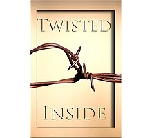 Twisted Inside Photographic Print
