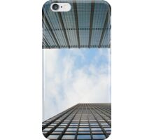 Blue Buildings iPhone Case/Skin