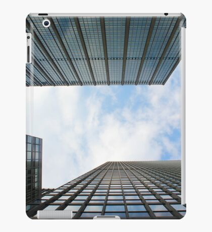Blue Buildings iPad Case/Skin