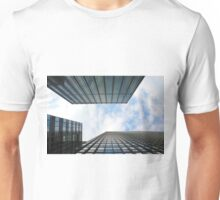 Blue Buildings Unisex T-Shirt